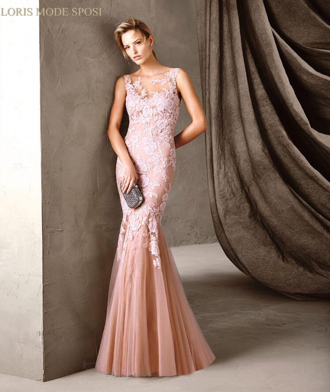 Favorito Un mondo di sfumature in rosa per gli abiti da cerimonia donna  XX05