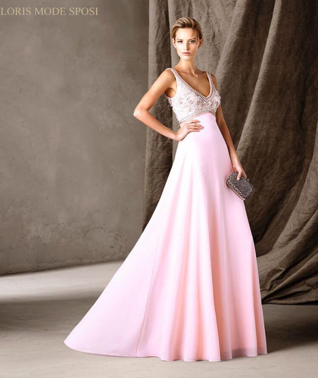 Un mondo di sfumature in rosa per gli abiti da cerimonia donna jpg 646x768 Abito  cerimonia 3fa7e0e4af4