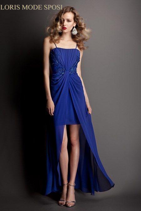 Bien connu Lussuose sfumature di blu per gli abiti da Cerimonia Donna 2016  YR91