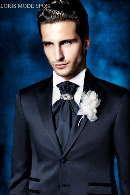 Abito Matrimonio Uomo Vintage : Abito sposo uomo colore blu i vestiti sono popolari in