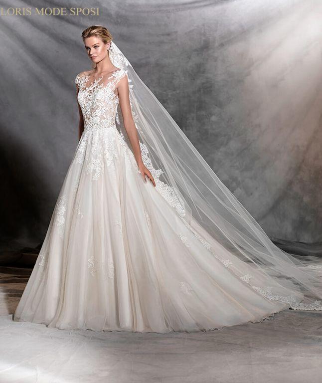 f6d44779cb5b Gli effetti tattoo degli abiti da sposa 2017 - Loris Mode Sposi