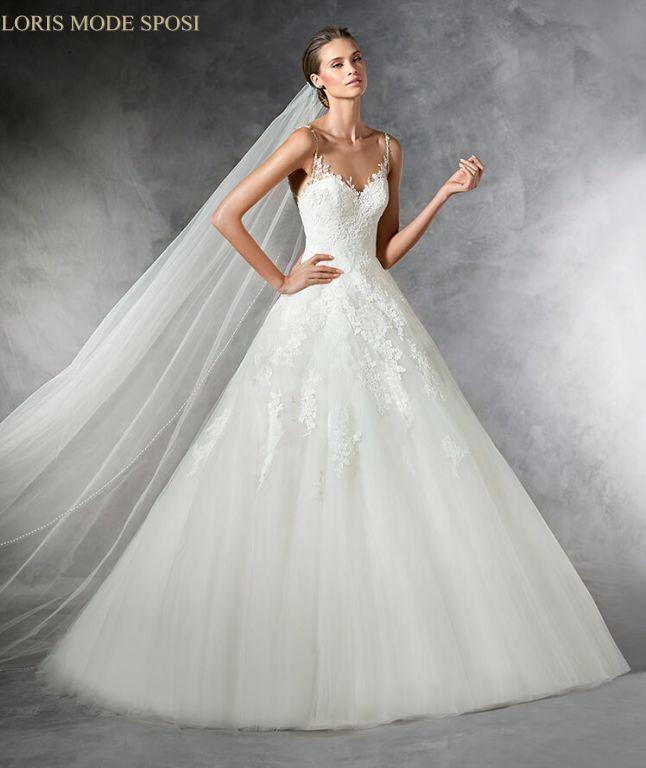 10f194e6c00c Gli effetti tattoo degli abiti da sposa 2017 - Loris Mode Sposi