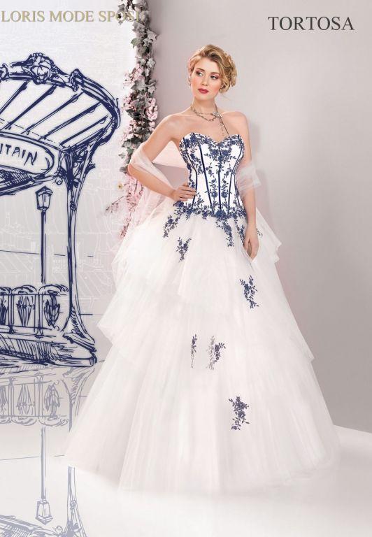 spesso Il romanticismo floreale degli abiti da sposa 2016 - Loris Mode Sposi ZD74