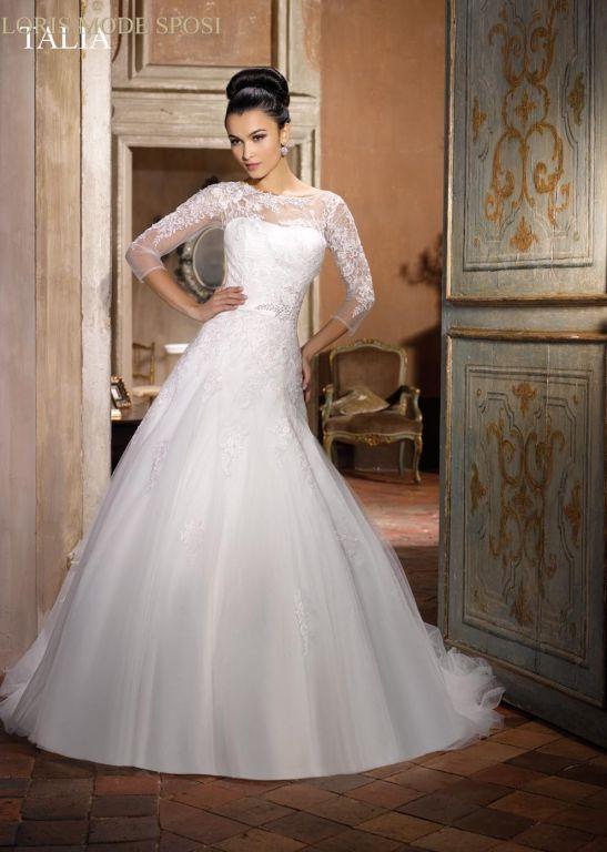 Conosciuto L'inverno ed i suoi abiti da sposa - Loris Mode Sposi BP97