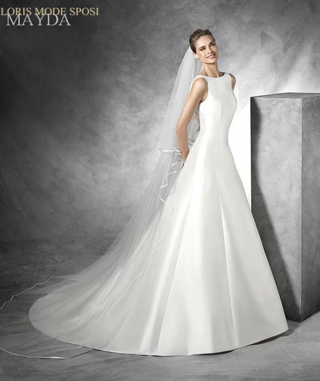Eccezionale Il mikado di seta negli abiti da sposa 2016 - Loris Mode Sposi EI14
