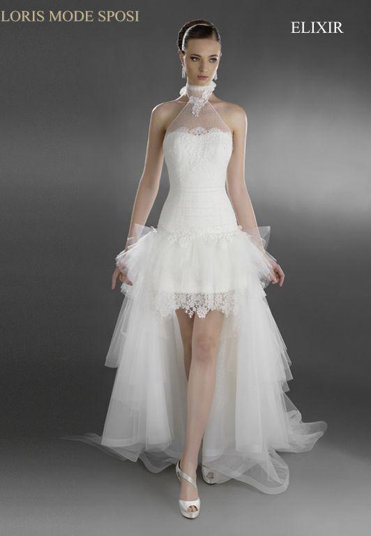 I vestiti da sposa 2016 per un matrimonio d estate - Loris Mode Sposi 0012e654702